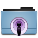 128x128px size png icon of Folder Podcast