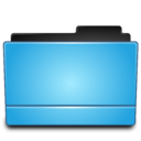 128x128px size png icon of Folder blue