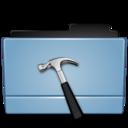 128x128px size png icon of Folder dev