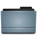 128x128px size png icon of Folder graphite
