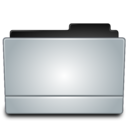 128x128px size png icon of Folder gray