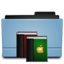 128x128px size png icon of Folder library