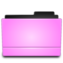 128x128px size png icon of Folder pink