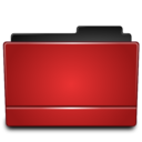 128x128px size png icon of Folder red