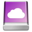 128x128px size png icon of HD iDisk