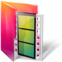128x128px size png icon of Folders movies