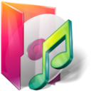 128x128px size png icon of Folders music