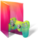 128x128px size png icon of Folders saved games