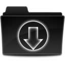 128x128px size png icon of Download