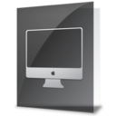 128x128px size png icon of iFolder iMac