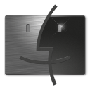 128x128px size png icon of Finder a