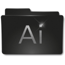 Folders Adobe AI Icon