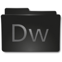 128x128px size png icon of Folders Adobe DW