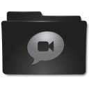 128x128px size png icon of Folders Chat