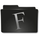 128x128px size png icon of Folders Fuentes