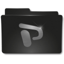 128x128px size png icon of Folders PPoint