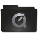 128x128px size png icon of Folders QuickTime