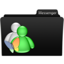 128x128px size png icon of Messenger
