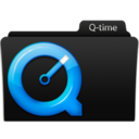 128x128px size png icon of Q-time