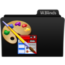 128x128px size png icon of Windows Blinds