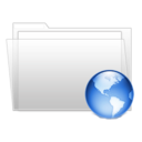 128x128px size png icon of Internet folder
