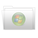 128x128px size png icon of Media folder