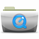128x128px size png icon of 06 QuickTime