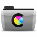 128x128px size png icon of 12 ColorSync