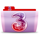 128x128px size png icon of 3