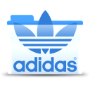 128x128px size png icon of Adidas 1