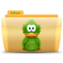 128x128px size png icon of Adium