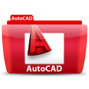 128x128px size png icon of AutoCAD