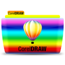 128x128px size png icon of CorelDRAW
