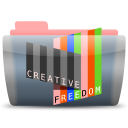 128x128px size png icon of Creative