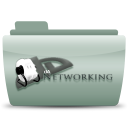 128x128px size png icon of Da networking