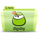 128x128px size png icon of Digsby