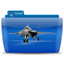 128x128px size png icon of Fighter plane