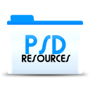 128x128px size png icon of Psd resources