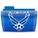 128x128px size png icon of USAF