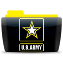 128x128px size png icon of Us army