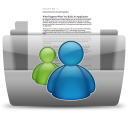 128x128px size png icon of MSN Conversations