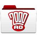 128x128px size png icon of 2000 AD