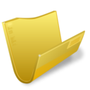 128x128px size png icon of Folder Blank 11