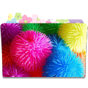 128x128px size png icon of Folder Flower