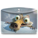 128x128px size png icon of Folder Ice Age
