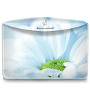 Folder Nature Flower Icon