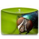 128x128px size png icon of Folder Nature Insect