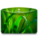 128x128px size png icon of Folder Nature Leave
