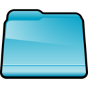128x128px size png icon of Generic Blue