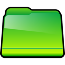 128x128px size png icon of Generic Green